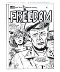 "(Andrew Paquette) Original Production Artwork for ""Freedom Comics"" (2006)"