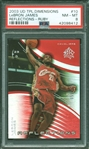 2003 UD Triple Dimensions Reflections Ruby LeBron James ROOKIE RC (55/500) PSA 8 NM-MT