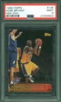 1996 Topps Kobe Bryant NBA 50th Anniversary #138 Rookie Card RC :: PSA Graded MINT 9
