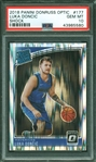 2018-19 Donruss Optic Luka Doncic #177 Shock Prizm Rookie Card RC :: PSA GEM MINT 10