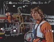 "Star Wars: Mark Hamill 10"" x 8"" Signed Photo from ""A New Hope"" With Great Inscription (Beckett/BAS Guaranteed)."