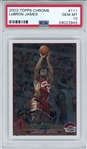 LeBron James 2003-04 Topps Chrome Rookie Card #111 (PSA Graded GEM MINT 10)