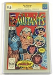 """The New Mutants"" Comic Book #87 (1987) CGC 9.6 Signed by Rob Liefeld (CGC Authenticated & Encapsulated/Graded)"